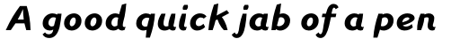 Linotype Inagur Std Bold Italic sample