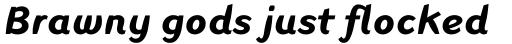 Linotype Inagur Pro Bold Italic sample