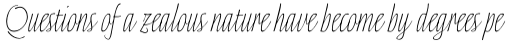 Linotype Finerliner Pro Micro sample