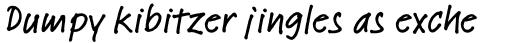 Linotype Feltpen Pro Medium sample