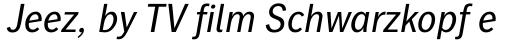 Linotype Gothic Pro Italic sample