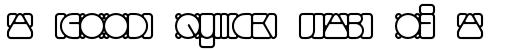 Linotype Mindline Outside sample