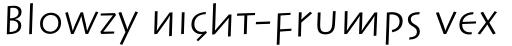 Linotype Syntax Lapidar Text Pro Regular sample