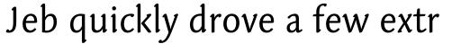 Linotype Syntax Letter Pro Regular sample