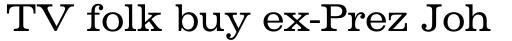 Volta Pro Regular sample