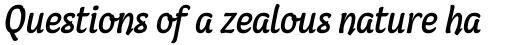 Coomeec Std Italic sample