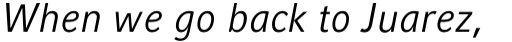 Compatil Fact Paneuropean Italic sample