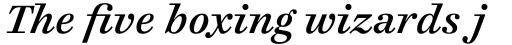 Cosmiqua Std Semibold Italic sample