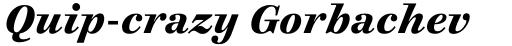 Cosmiqua Std Bold Italic sample