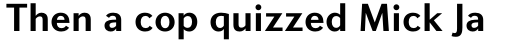 Diverda Sans Pro Bold sample