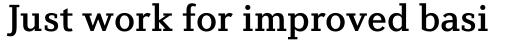 Diverda Serif Pro Medium sample