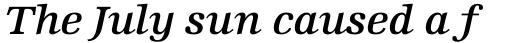 Edison Std Semi Bold Italic sample