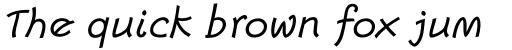 Escript Std Italic sample