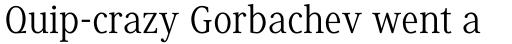 Generis Serif Std Regular sample