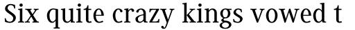 Generis Serif Pro Medium sample