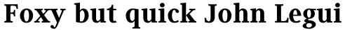 Generis Serif Pro Heavy sample