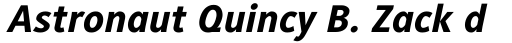 Generis Sans Pro Heavy Italic sample