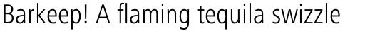 Frutiger Next Cyrillic Condensed Light sample