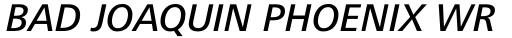 Frutiger Next Greek Medium Italic sample