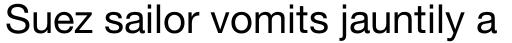 Neue Helvetica Std 55 Roman sample
