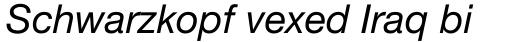 Neue Helvetica Std 56 Italic sample