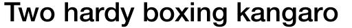 Neue Helvetica Paneuropean 65 Medium sample