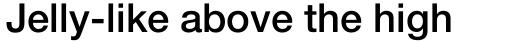 Neue Helvetica Std 65 Medium sample