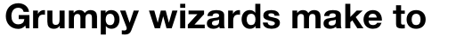 Neue Helvetica Paneuropean 75 Bold sample