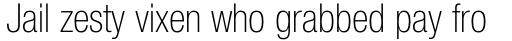 Neue Helvetica Std 37 Condensed Thin sample