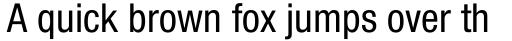 Neue Helvetica Paneuropean 57 Condensed sample