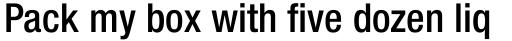 Neue Helvetica Paneuropean 67 Condensed Medium sample