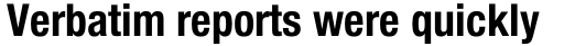 Neue Helvetica Std 77 Condensed Bold sample