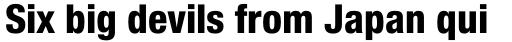 Neue Helvetica Std 87 Condensed Heavy sample