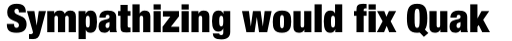 Neue Helvetica Std 97 Condensed Black sample