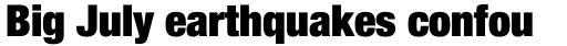 Neue Helvetica Std 107 Condensed Extra Black sample