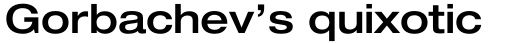 Neue Helvetica Std 63 Extended Medium sample