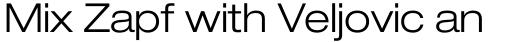 Neue Helvetica Paneuropean 43 Extended Light sample