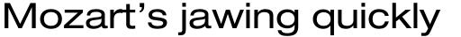 Neue Helvetica Paneuropean 53 Extended sample