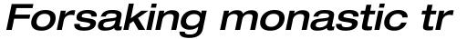 Neue Helvetica Paneuropean 63 Extended Medium Oblique sample