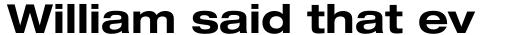 Neue Helvetica Paneuropean 73 Extended Bold sample