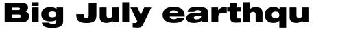 Neue Helvetica Paneuropean 93 Extended Black sample