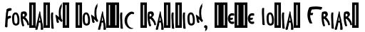 Toulouse-Lautrec Regular sample