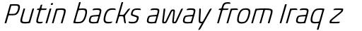 Biome Std Narrow Light Italic sample