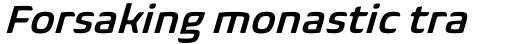 Biome Std Basic Semi Bold Italic sample