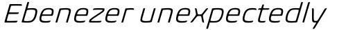 Biome Std Basic Light Italic sample