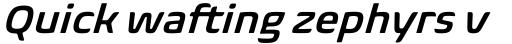Biome Pro Basic SemiBold Italic sample