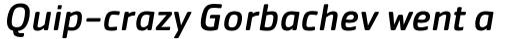 Cachet Pro Book Italic sample