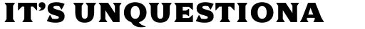 Dallas Print Shop Serif Bold sample