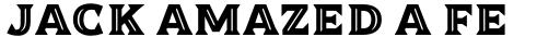 Dallas Print Shop Serif Inline sample