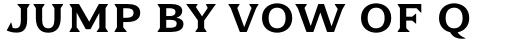 Dallas Print Shop Serif Regular sample